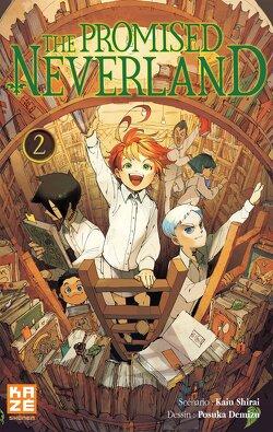 Couverture de The Promised Neverland, Tome 2 : Sous contrôle