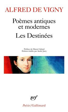 Couverture du livre : Poèmes antiques et modernes. Les Destinées