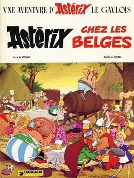 Couverture du livre : Astérix, Tome 24 : Astérix chez les Belges