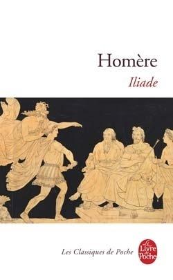 Couverture du livre : L'Iliade