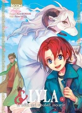 Couverture du livre : Lyla et la bête qui voulait mourir, Tome 4