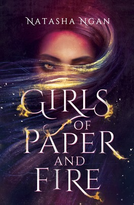 Couverture du livre : Girls of paper and fire