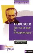 Intégrales de Philo - HEIDEGGER, Qu'est ce que la Métaphysique?