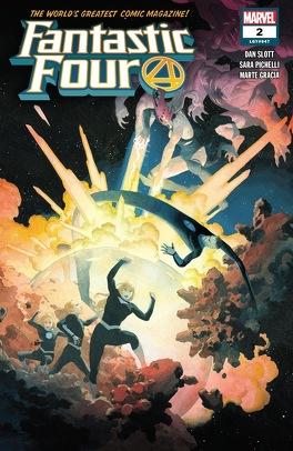 Couverture du livre : Fantastic Four (2018) #2