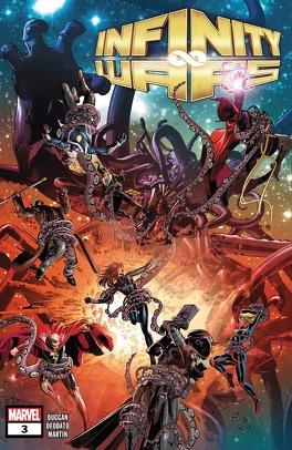 Couverture du livre : Infinity Wars #3
