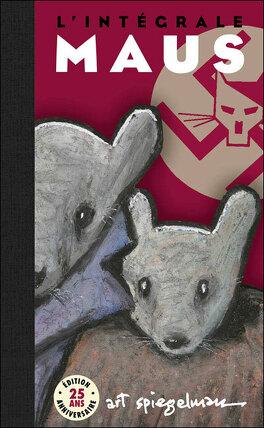 Couverture du livre : Maus, Intégrale