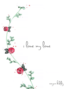 Couverture du livre : I Love My Love