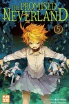couverture The Promised Neverland, Tome 5 : L'Évasion