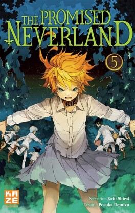 Couverture du livre : The Promised Neverland, Tome 5 : L'Évasion