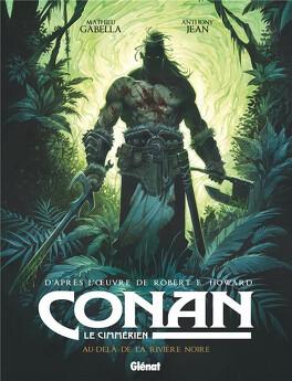 Couverture du livre : Conan le Cimmérien, Tome 3 : Au-delà de la Rivière Noire