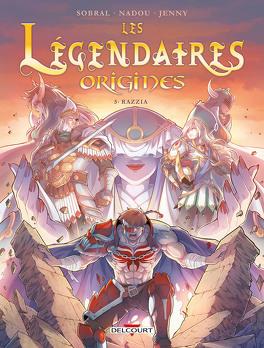 Couverture du livre : Les Légendaires : Origines, Tome 5 : Razzia