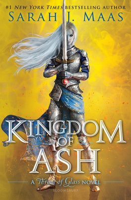 Couverture du livre : Throne Of Glass 7 : Kingdom of Ash