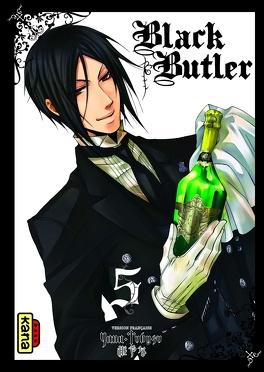 Couverture du livre : Black Butler, Tome 5