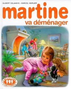 Couverture de Martine va déménager