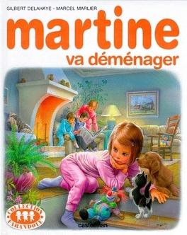 Couverture du livre : Martine va déménager