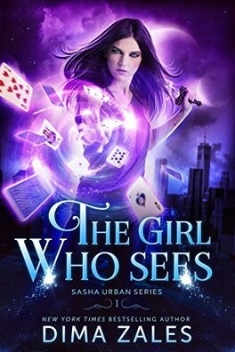 Couverture du livre : Sasha Urban, Tome 1: The Girl Who Sees