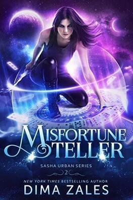 Couverture du livre : Sasha Urban, Tome 2: Misfortune Teller