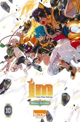 Couverture du livre : Im-Great Priest Imhotep, Tome 10