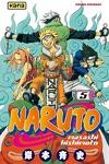 couverture Naruto, Tome 5 : Les rivaux !