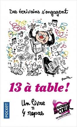 Couverture du livre : 13 à table ! 2019