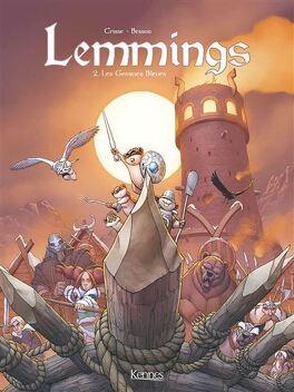 Couverture du livre : Lemmings, Tome 2 : Les Gemmes bleues