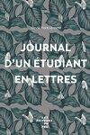 couverture Journal d'un étudiant en lettres