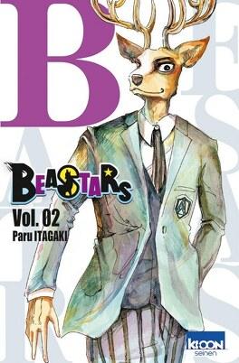 Couverture du livre : Beastars, Tome 2