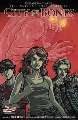 Couverture du livre : City of Bones - Graphic novel, tome 7