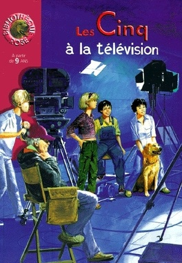 Couverture du livre : Le club des cinq à la télévision