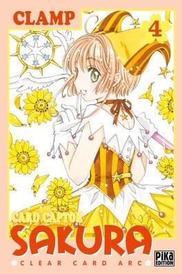 Couverture du livre : Card Captor Sakura - Clear Card Arc, Tome 4