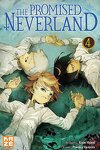 couverture The Promised Neverland, Tome 4 : Vivre