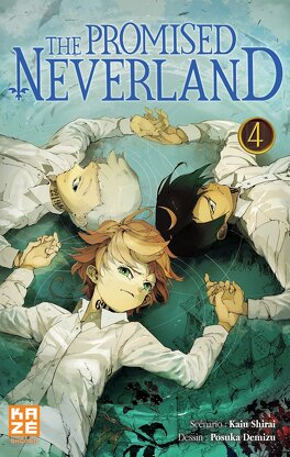 Couverture du livre : The Promised Neverland, Tome 4 : Vivre