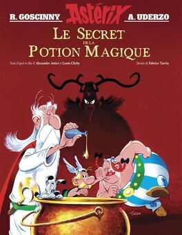 Couverture du livre : Astérix : Le secret de la potion magique