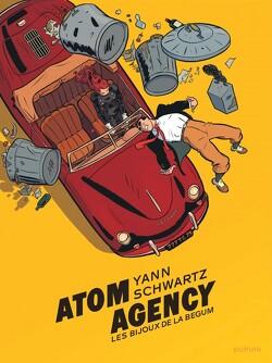 Couverture de Atom Agency, Tome 1 : Les Bijoux de la Bégum