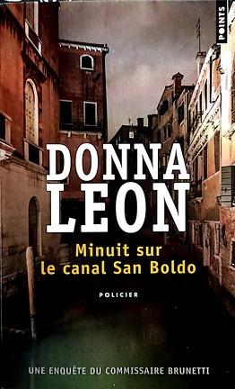 Couverture du livre : Minuit sur le canal San Boldo