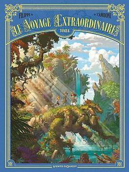 Couverture du livre : Le voyage extraordinaire, tome 6