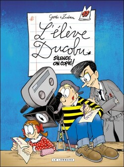 Couverture de L'Élève Ducobu, Tome 17 : Silence, on copie !