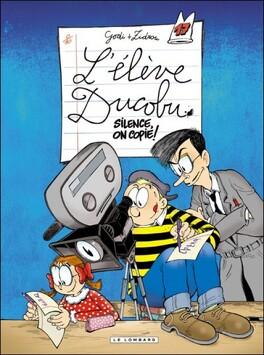 Couverture du livre : L'Élève Ducobu, Tome 17 : Silence, on copie !