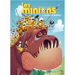 Couverture du livre : les minions tome 3 Viva lè boss!