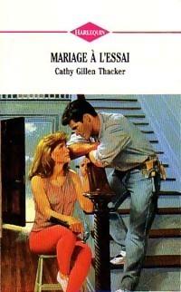 Couverture du livre : Mariage à l'essai