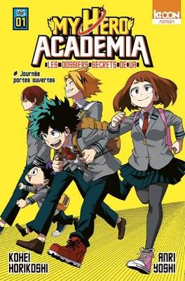 Couverture du livre : My Hero Academia - Roman Vol. 1