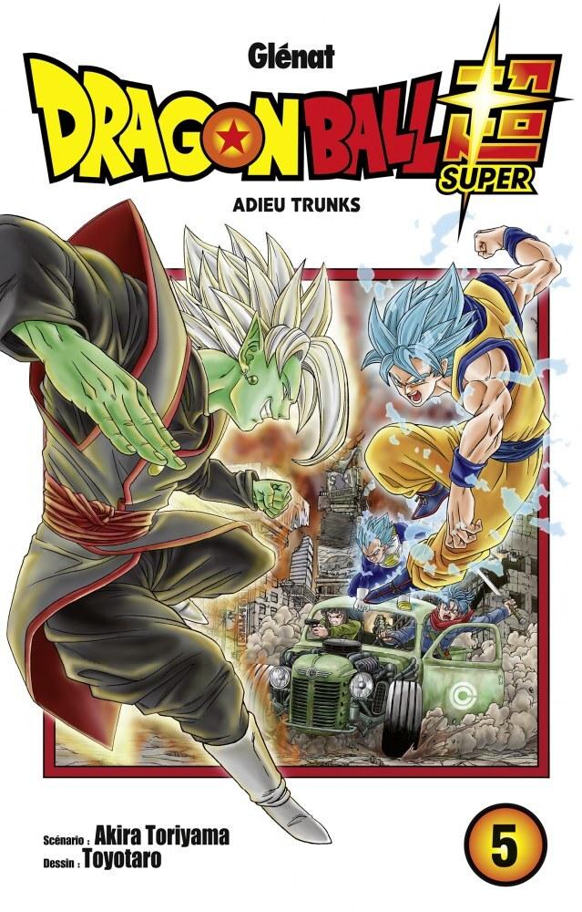 Couvertures Images Et Illustrations De Dragon Ball Super Tome 5