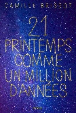 Couverture du livre : 21 printemps comme un million d'années