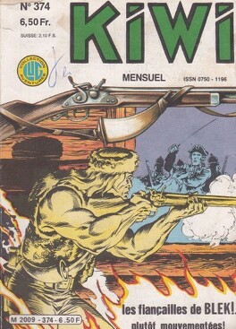 Couverture du livre : Kiwi N°374