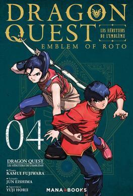 Couverture du livre : Dragon Quest - Les Héritiers de l'Emblème, Tome 4