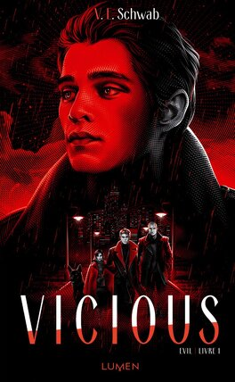 Couverture du livre : Evil, Tome 1 : Vicious