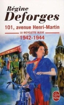 Couverture du livre : La Bicyclette bleue, Tome 2 : 101, avenue Henri-Martin