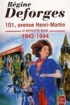 couverture La Bicyclette bleue, Tome 2 : 101, avenue Henri-Martin