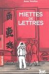 couverture Miettes de lettres
