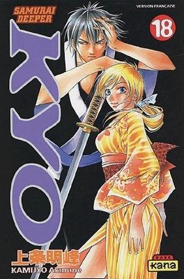 Couverture du livre : Samurai deeper Kyo, tome 18
